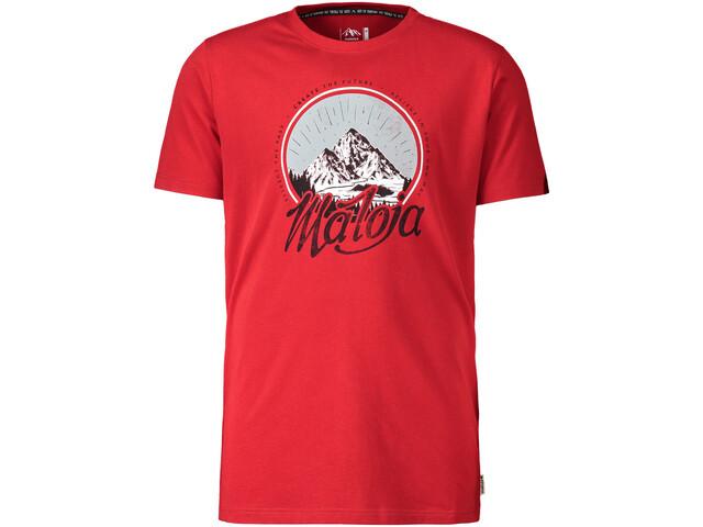 Maloja BertinM. T-Shirt Herren red poppy